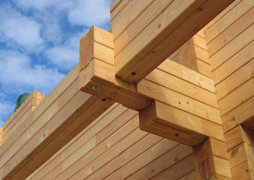 Преимущества строительства из клееного бруса