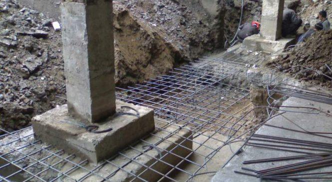 Усиление и ремонт фундамента