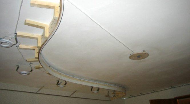 Подготовка к установке и ремонту потолков