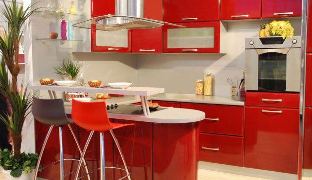 Дизайн небольшой кухни 2