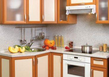 Большие возможности для маленькой кухни эконом класса