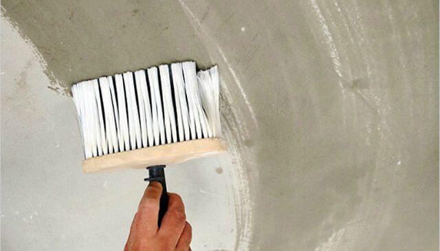 Подготовительный этап перед покраской потолка