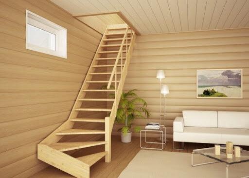 Деревянные лестницы в интерьере